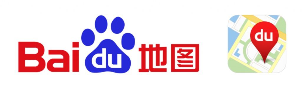 中国のGoogleの百度地図
